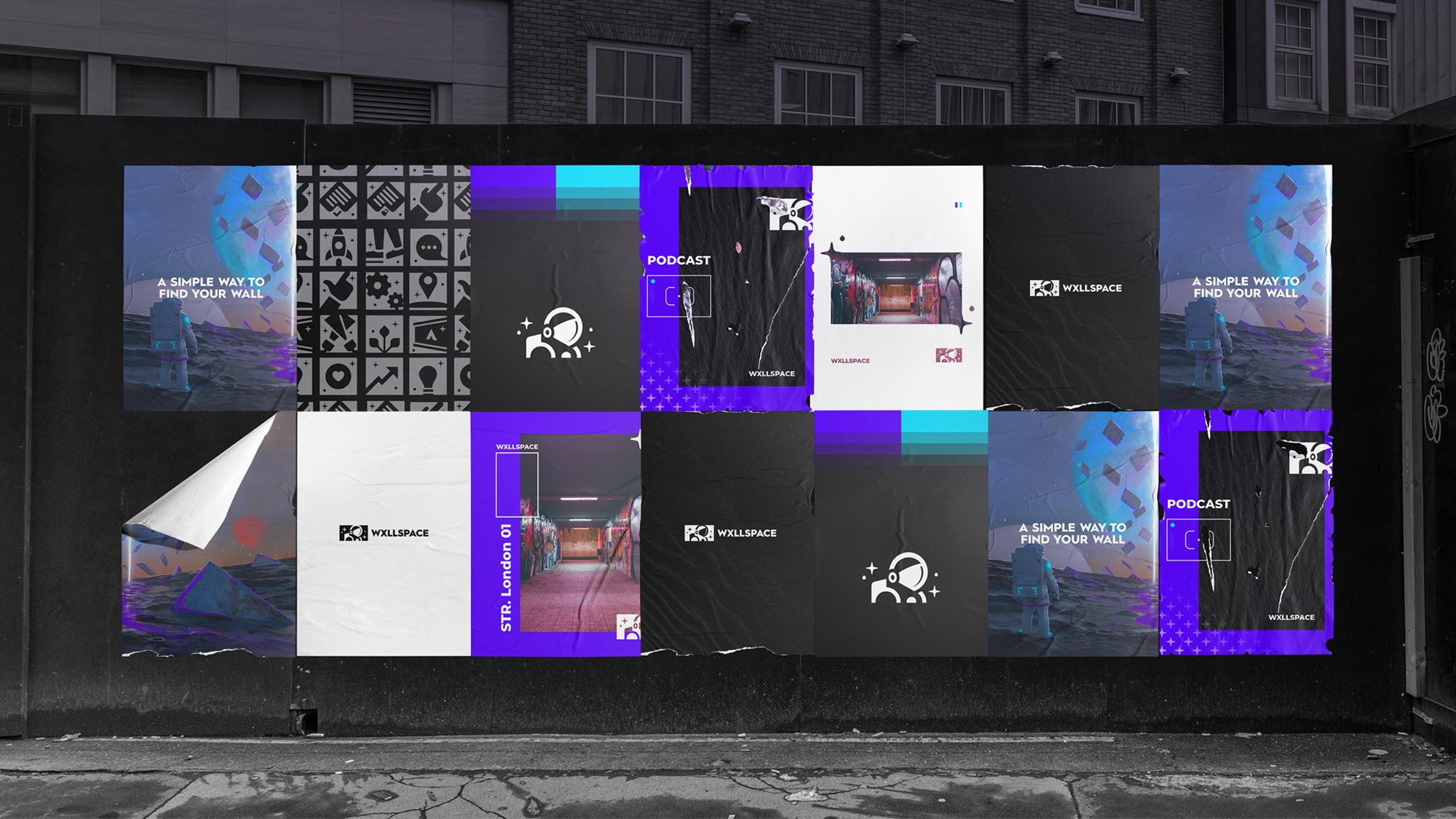 Wxllspace posters